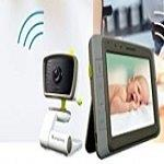 Moonybaby Split 50 Baby Monitor with 2 Cameras